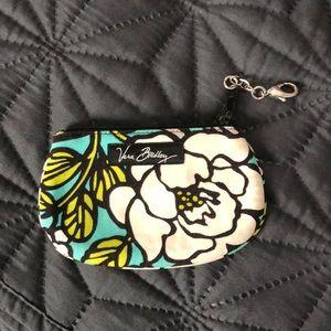 Vera Bradley ID wallet keychain